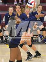 This MaxPreps.com professional photo is from the gallery Yerington vs. Calvary Chapel Christian (NIAA 2A State Semifinal) which features Calvary Chapel Christian high school athletes playing  Volleyball. This photo was shot by Jann Hendry and published on Hendry.