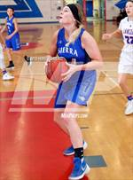 This MaxPreps.com professional photo features Sierra high school Lindsey Walljasper playing Girls Basketball. This photo was shot by Hime Romero and published on Romero.
