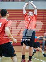 This MaxPreps.com professional photo features Jesuit high school Tristan Schubert playing Boys Volleyball. This photo was shot by Anthony Brunsman and published on Brunsman.