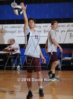 This MaxPreps.com professional photo features Loma Linda Academy high school Marcelo Desia playing Boys Volleyball. This photo was shot by David Nurse and published on Nurse.