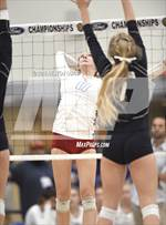 This MaxPreps.com professional photo is from the gallery Trabuco Hills vs. Los Alamitos (CIF-SS D2 Final) which features Trabuco Hills high school athletes playing  Volleyball. This photo was shot by Heston Quan and published on Quan.