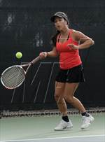 This MaxPreps.com professional photo is from the gallery Redondo Union @ Palos Verdes which features Redondo Union high school athletes playing Girls Tennis. This photo was shot by Heston Quan and published on Quan.