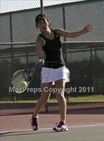 This MaxPreps.com professional photo is from the gallery Stockdale @ Centennial which features Centennial high school athletes playing Girls Tennis. This photo was shot by Craig Morley and published on Morley.