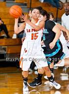 This MaxPreps.com professional photo is from the gallery Pasadena Memorial vs La Porte (McDonald's Texas Invitational) which features La Porte high school athletes playing Girls Basketball.
