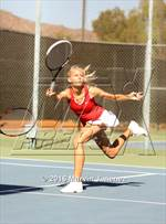 This MaxPreps.com professional photo is from the gallery San Marcos vs Oaks Christian which features San Marcos high school athletes playing Girls Tennis. This photo was shot by Marvin Jimenez and published on Jimenez.