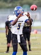 This MaxPreps.com professional photo is from the gallery Jefferson @ Alonso which features Jefferson high school athletes playing  Football.