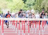 This MaxPreps.com professional photo is from the gallery AIA Track & Field Preliminaries (Boys 100/110 Meter Hurdles) which features Tempe high school athletes playing  Track & Field. This photo was shot by Darin Sicurello and published on Sicurello.