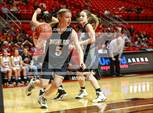 This MaxPreps.com professional photo is from the gallery Bushland vs. Levelland (UIL 4A Regional Quarterfinal) which features Bushland high school athletes playing Girls Basketball. This photo was shot by John Moore and published on Moore.