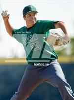 This MaxPreps.com professional photo features Brea Olinda high school Kyle Jackson playing  Baseball. This photo was shot by Tim  Peck and published on Peck.