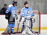 This MaxPreps.com professional photo features Suffern high school Ted Bristow and Ryan Fueg playing  Ice Hockey. This photo was shot by Jim Sannerud and published on Sannerud.