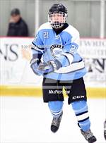 This MaxPreps.com professional photo features Suffern high school Kyle Foresta playing  Ice Hockey. This photo was shot by Jim Sannerud and published on Sannerud.