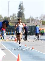 This MaxPreps.com professional photo is from the gallery CIF Southern Section Masters Track and Field Championships (Girls Field Events) which features Burroughs high school athletes playing Girls Track & Field. This photo was shot by Ron Wilson and published on Wilson.