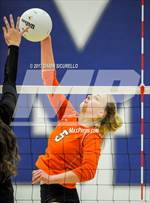 This MaxPreps.com professional photo features Corona del Sol high school Brooke Nuneviller playing  Volleyball. This photo was shot by Darin Sicurello and published on Sicurello.