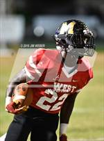 This MaxPreps.com professional photo is from the gallery Pasco County All Star Game which features Zephyrhills Christian Academy high school athletes playing  Football. This photo was shot by Jim Weber and published on Weber.