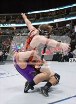 This MaxPreps.com professional photo is from the gallery CHSAA 2A/3A Wrestling Championships (Semifinals) which features Simla high school athletes playing  Wrestling. This photo was shot by Jeffery Tucker and published on Tucker.
