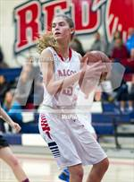 This MaxPreps.com professional photo features Saratoga high school Kirstin Kruka playing Girls Basketball. This photo was shot by Ted Walker and published on Walker.