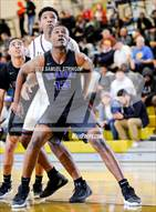 This MaxPreps.com professional photo is from the gallery Sacramento vs. Stuart Hall (Crush In The Valley) which features Sacramento high school athletes playing  Basketball.