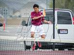 This MaxPreps.com professional photo is from the gallery Timpview @ Maple Mountain which features Maple Mountain high school athletes playing  Tennis. This photo was shot by Jeff Porcaro and published on Porcaro.