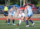 This MaxPreps.com professional photo is from the gallery Medfield @ Dover-Sherborn which features Medfield high school athletes playing  Field Hockey. This photo was shot by Joseph Kelley and published on Kelley.