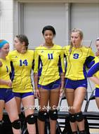 This MaxPreps.com professional photo is from the gallery Clemens vs Brandeis (NEISD Invitational) which features Clemens high school athletes playing  Volleyball.