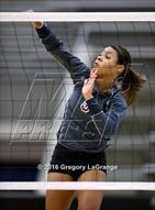 This MaxPreps.com professional photo is from the gallery Waxahachie @ Keller Central which features Keller Central high school athletes playing  Volleyball.