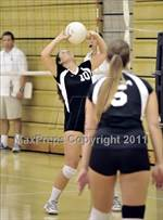 This MaxPreps.com professional photo features Costa Mesa high school Sami Feinstein playing  Volleyball. This photo was shot by Heston Quan and published on Quan.