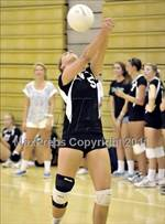 This MaxPreps.com professional photo features Costa Mesa high school Shannon Walthers playing  Volleyball. This photo was shot by Heston Quan and published on Quan.
