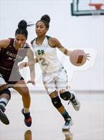 This MaxPreps.com professional photo is from the gallery Roosevelt (Hyde Park, NY) vs. Kingston (Section 9 Class AA Semifinal) which features Roosevelt high school athletes playing Girls Basketball. This photo was shot by William Pine and published on Pine.