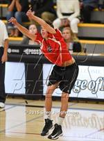 This MaxPreps.com professional photo features Redwood high school Geffen Hochschild playing Boys Volleyball. This photo was shot by Greg Jungferman and published on Jungferman.
