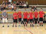 This MaxPreps.com professional photo features Redwood high school Tanner Jacobberger, Max Josef, Ryan Mishoe, Jason Silberman, Jacob Zimmerman and Mason Cohen playing Boys Volleyball. This photo was shot by Greg Jungferman and published on Jungferman.