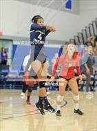 This MaxPreps.com professional photo is from the gallery La Salle vs. Sierra Canyon (CIF SS D3 Final) which features Sierra Canyon high school athletes playing  Volleyball.