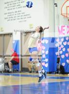 This MaxPreps.com professional photo is from the gallery Mater Dei @ Santa Margarita which features Santa Margarita high school athletes playing  Volleyball.