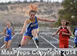 This MaxPreps.com professional photo is from the gallery Cuba Invite which features Tse' Yi' Gai high school athletes playing Girls Track & Field. This photo was shot by John Denne and published on Denne.