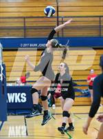 This MaxPreps.com professional photo features Agua Fria high school Emily Bey playing  Volleyball. This photo was shot by Mark Jones and published on Jones.