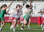 This MaxPreps.com professional photo features Charlotte Catholic high school Lauren Santucci playing Girls Lacrosse. This photo was shot by Dean Swint and published on Swint.