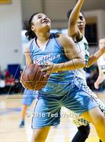 This MaxPreps.com professional photo features North Salinas high school Ashley Tennant playing Girls Basketball. This photo was shot by Ted Walker and published on Walker.