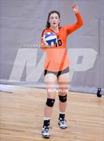 This MaxPreps.com professional photo features West high school Brooke Dexter playing  Volleyball. This photo was shot by Darin Sicurello and published on Sicurello.
