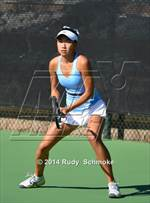 This MaxPreps.com professional photo is from the gallery CIF SoCal Regional Girls Tennis Championships which features Laguna Beach high school athletes playing Girls Tennis. This photo was shot by Rudy  Schmoke and published on Schmoke.