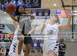 This MaxPreps.com professional photo features Edmond Santa Fe high school Keira Neal playing Girls Basketball. This photo was shot by Gray Siegel and published on Siegel.