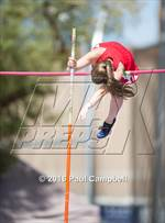 This MaxPreps.com professional photo is from the gallery AIA State Track & Field Championships (Girls Field Events Semifinals) which features Santa Cruz Valley high school athletes playing Girls Track & Field. This photo was shot by Paul Campbell and published on Campbell.