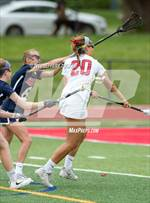 This MaxPreps.com professional photo features Kent Denver high school  and Reagan Haecker playing Girls Lacrosse. This photo was shot by Jeffery Tucker and published on Tucker.