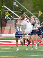 This MaxPreps.com professional photo features Kent Denver high school Emma Murphy and Emerson Damiano playing Girls Lacrosse. This photo was shot by Jeffery Tucker and published on Tucker.