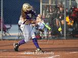 This MaxPreps.com professional photo features Pleasant Hill high school Lauren Redwine playing  Softball. This photo was shot by Ryan Coody and published on Coody.