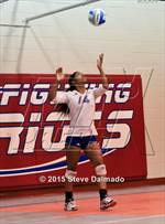 This MaxPreps.com professional photo is from the gallery Northshore @ John Curtis which features Northshore high school athletes playing  Volleyball. This photo was shot by Steve Dalmado and published on Dalmado.