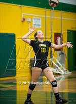 This MaxPreps.com professional photo is from the gallery Bishop O'Dowd @ Castro Valley which features Bishop O'Dowd high school athletes playing  Volleyball. This photo was shot by Samuel Stringer and published on Stringer.