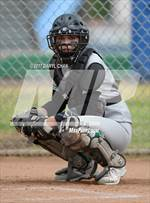 This MaxPreps.com professional photo features Monrovia high school Carmen Walters playing  Softball. This photo was shot by Daryl Chan and published on Chan.