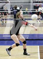 This MaxPreps.com professional photo is from the gallery Kit Carson vs. Otis (CHSAA 1A Semifinal) which features Kit Carson high school athletes playing  Volleyball. This photo was shot by Kevin Saffer and published on Saffer.