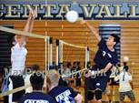 This MaxPreps.com professional photo is from the gallery Village Christian vs. Crescenta Valley (Crescenta Valley Tournament) which features Village Christian high school athletes playing Boys Volleyball. This photo was shot by Daryl Chan and published on Chan.