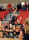 This MaxPreps.com professional photo is from the gallery Oak Ridge @ St. Francis which features St. Francis high school athletes playing  Volleyball.