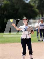This MaxPreps.com professional photo features Camarillo high school Callie Claverie playing  Softball. This photo was shot by Ron Wilson and published on Wilson.